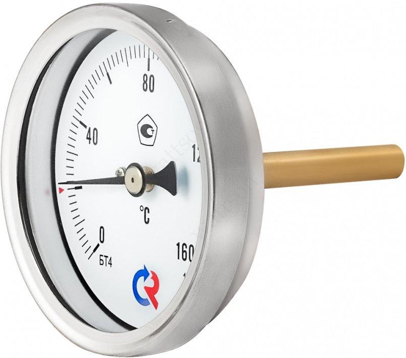 Термометр БТ-51.211 (0 - 120°С) 100 мм, задн. подкл. G1/2, шток 200 мм, класс 1.5